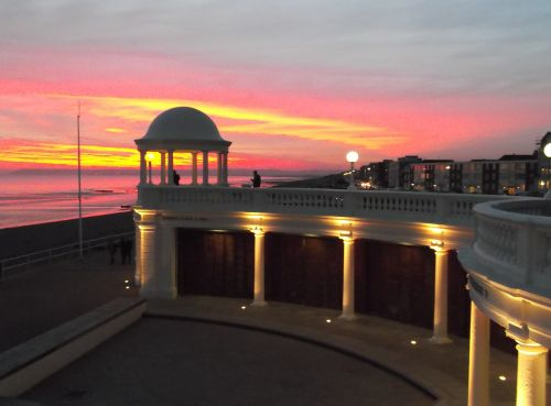 A wonderful Sunset at Bexhill-on-Sea in East Sussex.