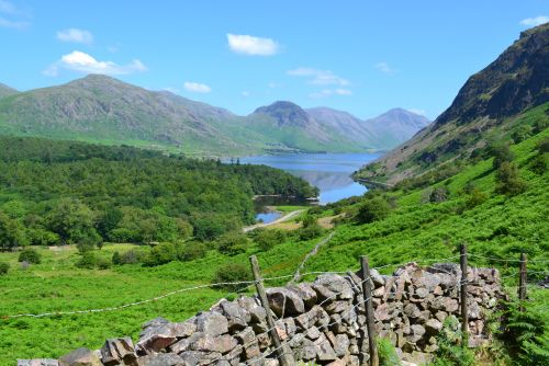 Wast water view