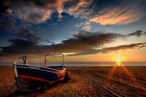 'Kimlinjo Sunrise' - Marske-by-the-Sea, North Yorkshire.