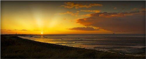 Sunset at Spurn Point