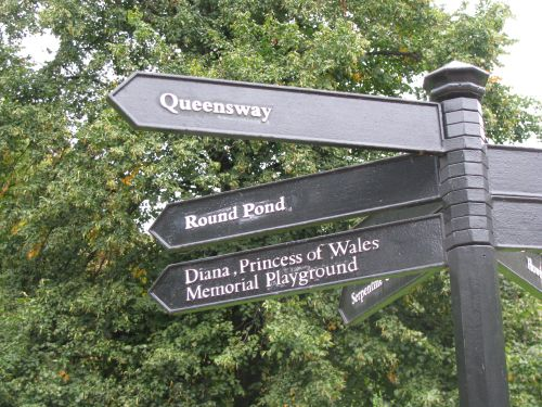 Finding your way around Hyde Park