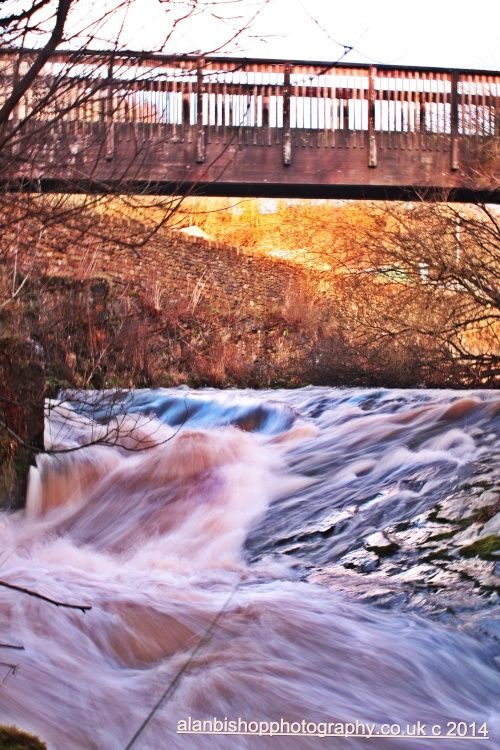 River Tame at Scout Green, Mossley