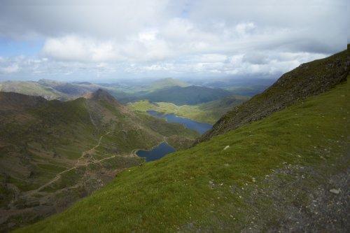 View from Llanberris Path, Snowdon