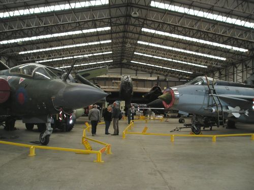 Yorkshire Air Museum Main display hall