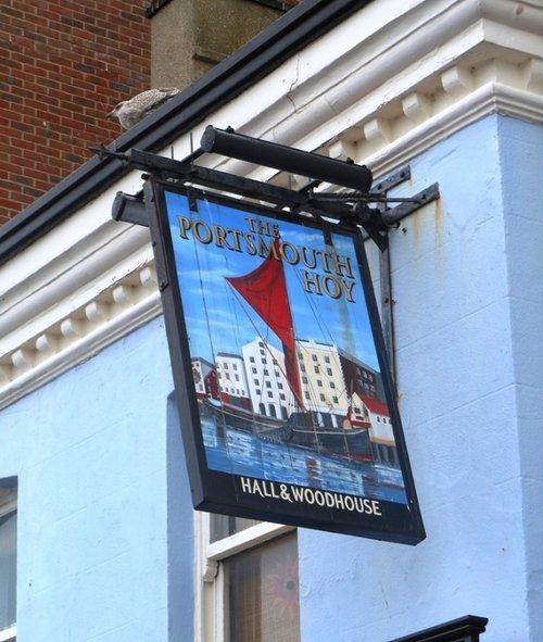 Pub sign, Poole