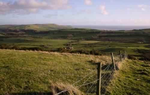 The Dorset coastal landscape