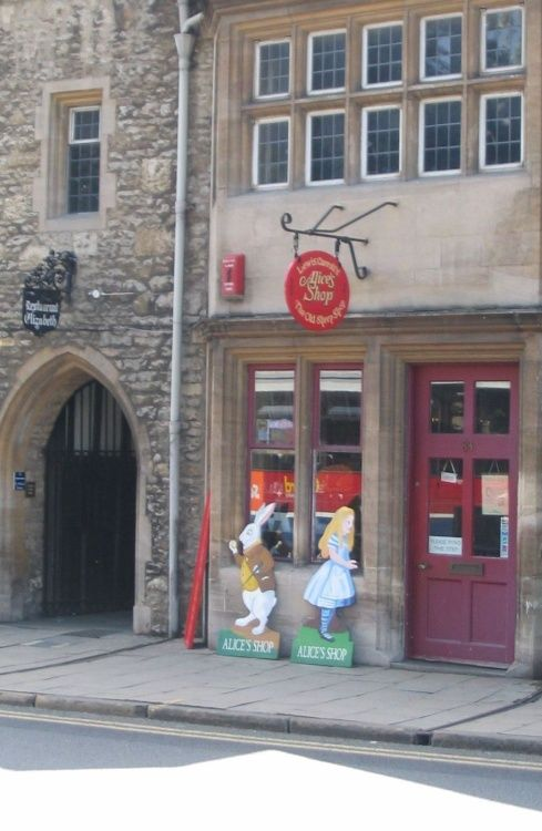 Oxford - Alice's Shop - June 2003
