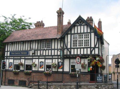 Oxford Pub - The Castle Tavern - June 2003