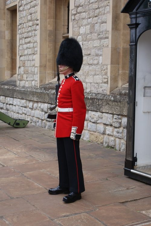 Guardsman On Duty