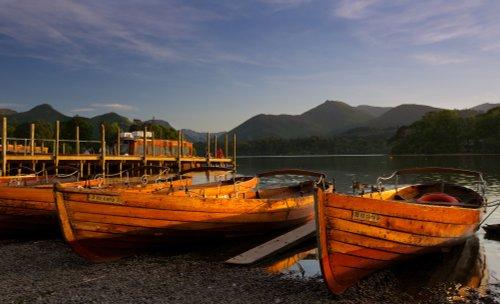 Golden Boats at Keswick