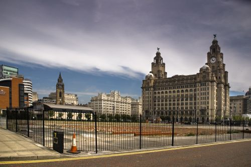 Royal Liver building, Liverpool, Merseyside