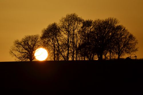 Everdon sunset