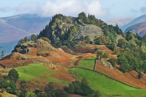 Castle Crag, Borrowdale, Cumbria