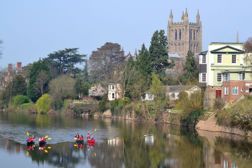River Wye & Cathedral