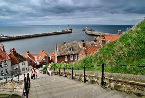 199 Steps, Whitby Wallpaper Background