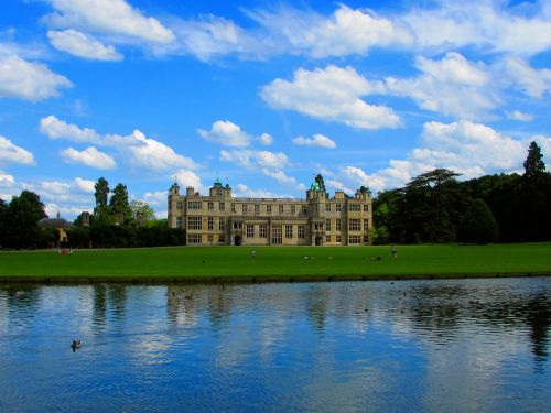 Audley End across the water