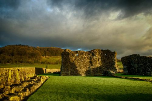 Sawley abbey ruins 1