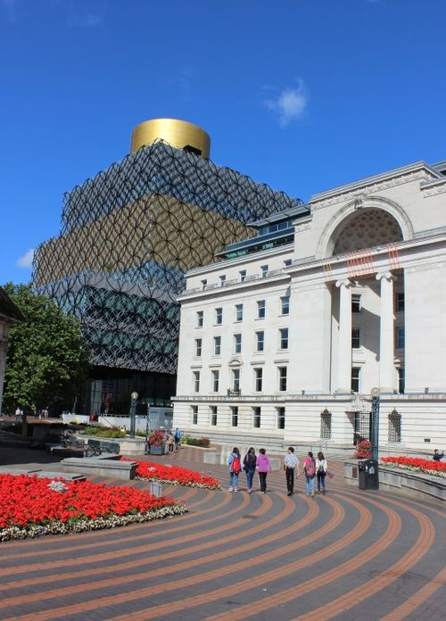 Library of Birmingham and Baskerville House, Birmingham, West Midlands