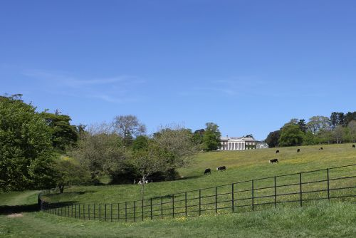 Trelissick Park and House.