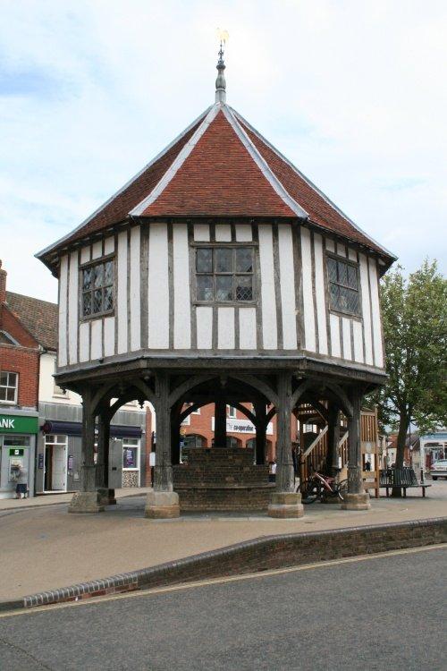 The market cross, Wymondham