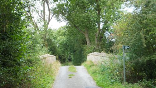 Lane to Great Rissington