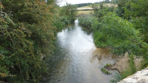 River Windrush near Great Rissington