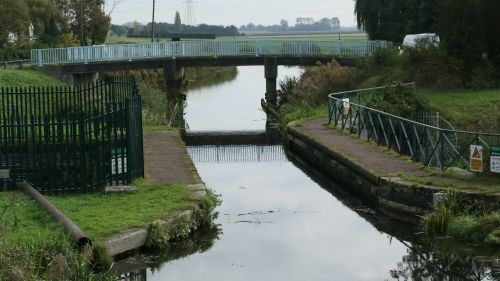 Mullicourt Aqueduct, Middle Level Navigations