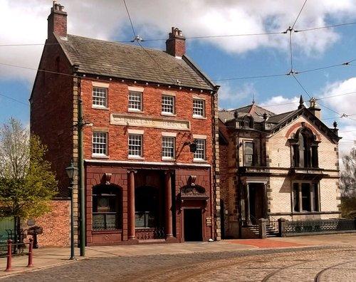 Beamish Museum, Beamish, County Durham, Bank