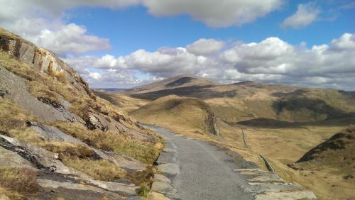 Easterly views from Snowdonia