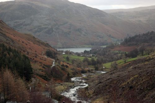 Glenridding and Ullswater, Cumbria