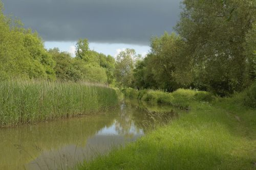 The Oxford Canal near Upper Heyford, Oxfordshire