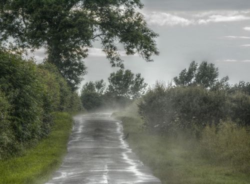 After Rain, Hillesden, Buckinghamshire