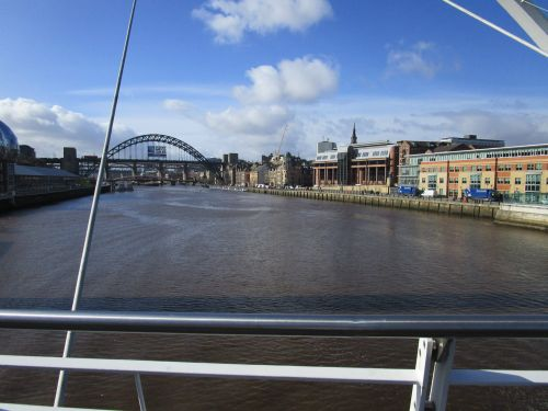 Newcastle, Tyne and Wear. The Quayside