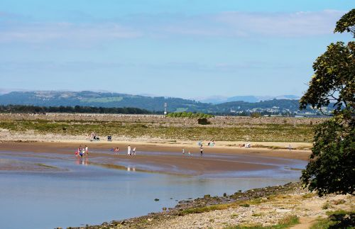On the sands at Arnside, Cumbria