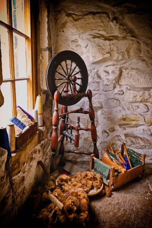 Chillingham Castle, Spinning Wheel.
