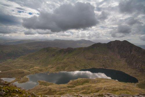View from Crib Goch .