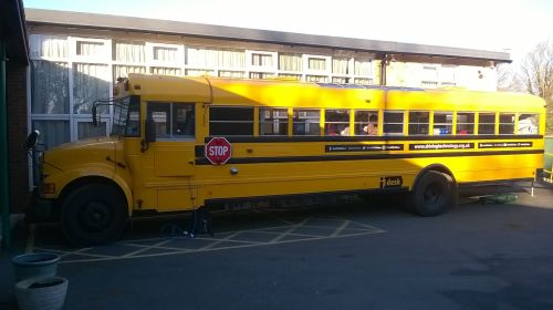 the big yellow bus, Coteford infant school