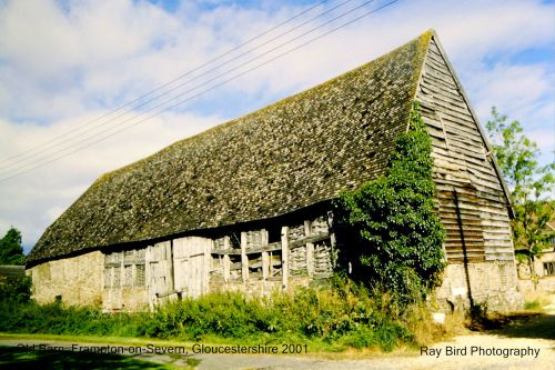 Old Barn at Tanhouse Farm, Frampton on Severn, Gloucestershire 2001