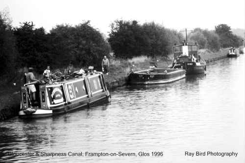 Gloucester & Sharpness Canal, Frampton on Severn, Gloucestershire 1996