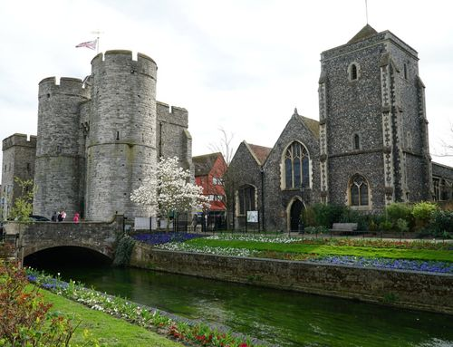 The West Gate at Canterbury