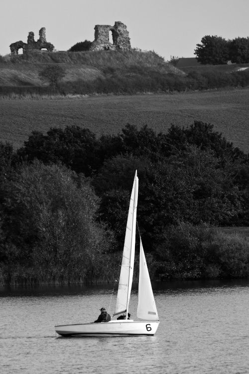 Yacht and Sandal Castle at Pugneys Watersports Centre & Country Park, Wakefield