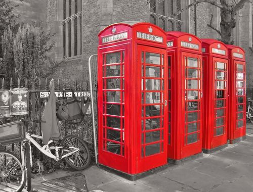 Cambridge Phone Boxes