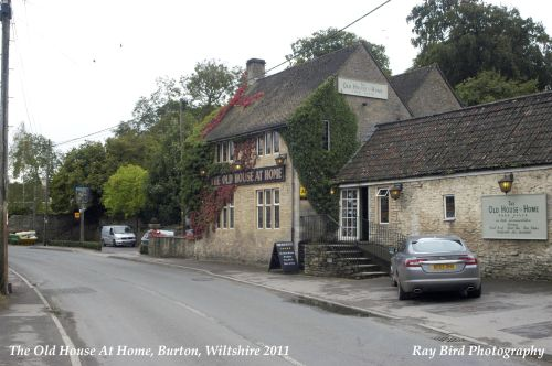 The Old House at Home Pub, Burton, nr Chippenham, Wiltshire 2011