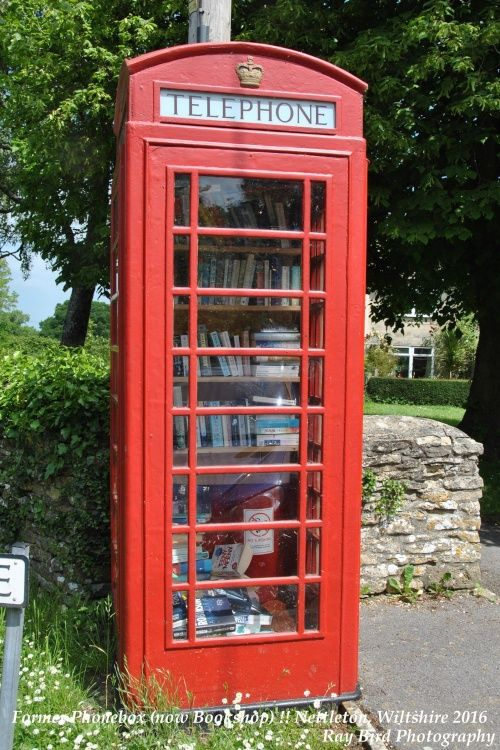 Phonebox Bookstall !! Nettleton, Wiltshire 2016