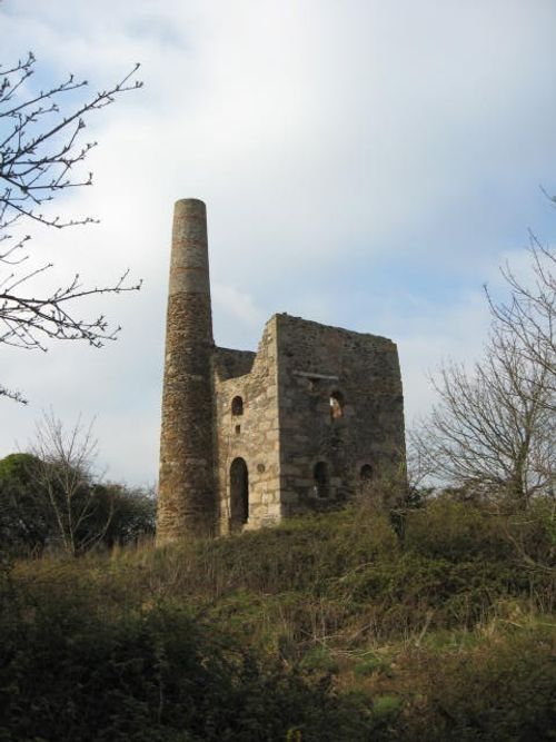 Old Cornish Tin Mine near Redruth, Cornwall