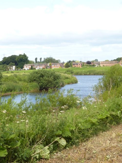 River Eden, Crosby-on-Eden, Cumbria