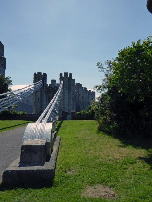 Castle and Suspension Bridge