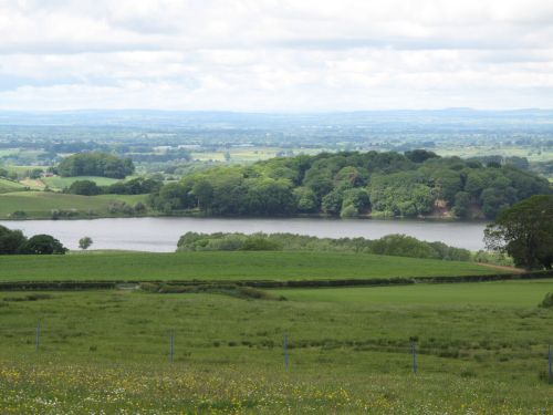 Talkin Tarn ,from above Farlam