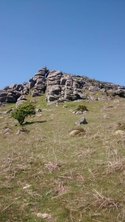 Bell Tor on a bright day