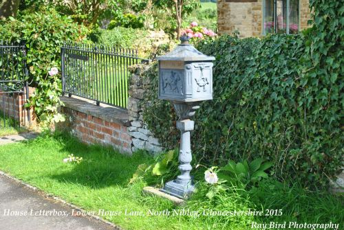 Unusual House Mailbox, North Nibley, Gloucestershire 2015